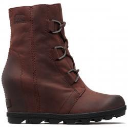 Sorel Women's Joan Of Arctic Wedge Ii Waterproof Boots - Red, 10
