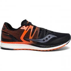 Saucony Men's Liberty Iso Running Shoe - Black, 8
