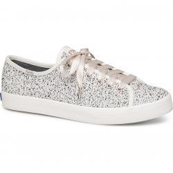Keds Women's Kickstart Two-Tone Boucle Sneakers - White, 9