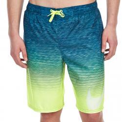 Nike Men's 9 In. Hero Volley Shorts - Black, L