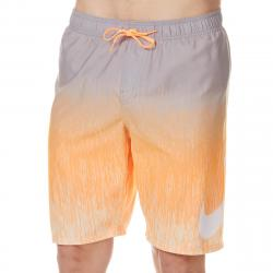 Nike Men's 9 In. Rush Ombre Breaker Volley Swim Shorts - Orange, M
