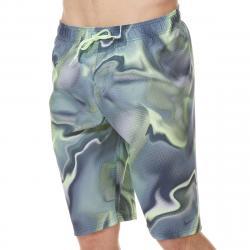 Nike Men's 11 In. Amp Axis Breaker Volley Swim Shorts - Purple, XL
