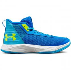 Under Armour Big Girls' Grade School Jet 2018 Basketball Shoes - Blue, 6