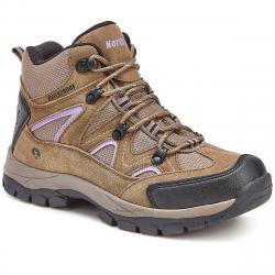 Northside Women's Snohomish Mid Waterproof Hiking Boots - Brown, 11