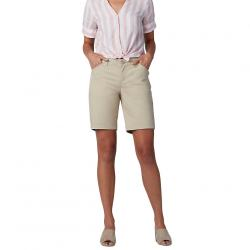 """LEE Women's 9"""" Chino Bermuda Short - White, 6"""