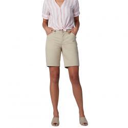 """LEE Women's 9"""" Chino Bermuda Short - White, 4"""
