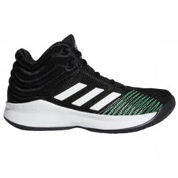 Adidas Boys' Pro Spark 2018 Basketball Shoes, Wide - Black, 4