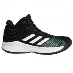 Adidas Boys' Pro Spark 2018 Basketball Shoes, Wide - Black, 4.5
