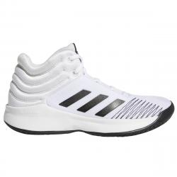 Adidas Boys' Pro Spark 2018 Basketball Shoes - White, 4