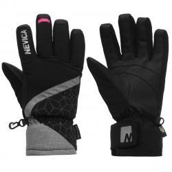 Nevica Kids' 3-In-1 Ski Gloves - Red, S