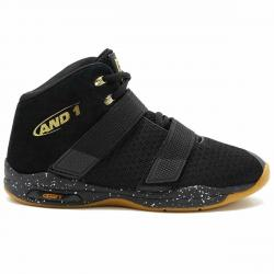 And1 Men's Chosen One Ii Basketball Shoes - Black, 10