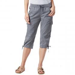 Unionbay Women's Devora Convertible Skimmer Crop Pants - Black, 12