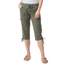 Unionbay Women's Devora Convertible Skimmer Crop Pants - Green, 8