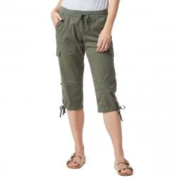 Unionbay Women's Devora Convertible Skimmer Crop Pants - Green, 10