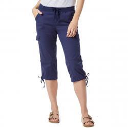 Unionbay Women's Devora Convertible Skimmer Crop Pants - Blue, 8