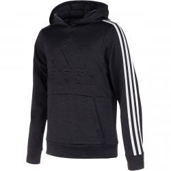 Adidas Little Boys' Embossed Pullover Hoodie - Black, 5