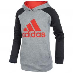 Adidas Little Boys' Fusion Pullover Hoodie - Black, 5