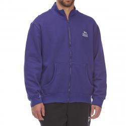 Lonsdale Men's Full-Zip Fleece Jacket - Blue, 3XL