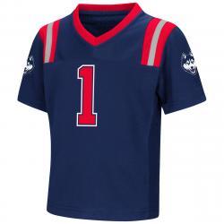 Uconn Toddler Boys' Foos-Ball Short-Sleeve Football Jersey - Blue, 3T