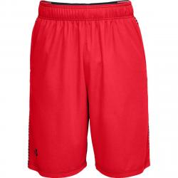 Under Armour Men's Between The Lines Basketball Shorts - Red, M
