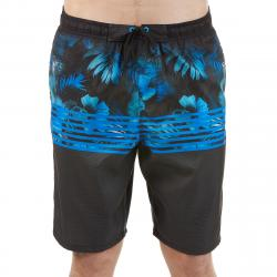 Burnside Men's Island Love Board Shorts - Black, L