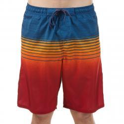 Burnside Men's Forever E-Board Shorts - Red, L