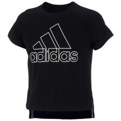 Adidas Girls' Winners Tee - Black, L