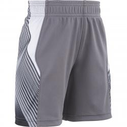 Under Armour Little Boys' Ua Space The Floor Basketball Shorts - Black, 6