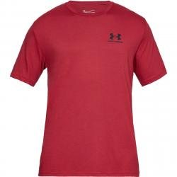 Under Armour Men's Ua Sportstyle Left Chest Short-Sleeve Tee - Red, L
