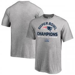 New England Patriots Kids' Super Bowl Liii Champions Short-Sleeve Nickel Defense Tee - Black, 5-6