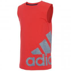 Adidas Little Boys' Supreme Speed Logo Tank Top - Red, 7X