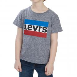 Levi's Toddler Boys' Graphic Short-Sleeve Tee - Blue, 4T