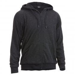 Burnside Men's Fleece Jacket With Sherpa Lining - Black, S