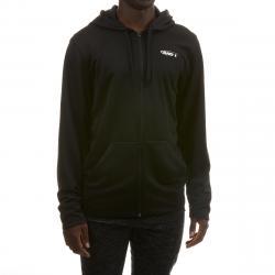 And1 Men's Full Zip Hoodie - Black, S