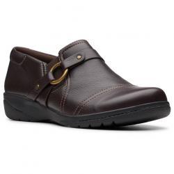 Clarks Women's Cheyn Fame Shoes - Brown, 7