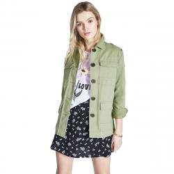Jack Wills Women's Garrowby Utility Jacket - Green, 8