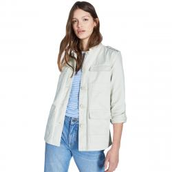 Jack Wills Women's Garrowby Utility Jacket - White, 6