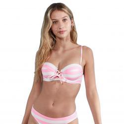 Jack Wills Women's Keens Balcony Bikini Top - Red, 8