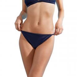 Jack Wills Women's Midgrove Reversible String Bikini Bottoms - Black, 8