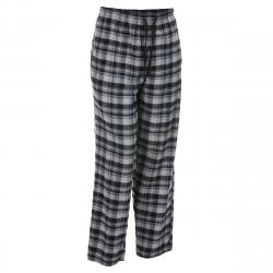Ems Men's Flannel Lounge Pants - Black, XXL