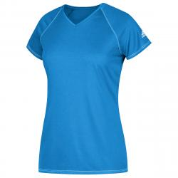 Adidas Women's Short-Sleeve Team Climalite Tee - Blue, XXL