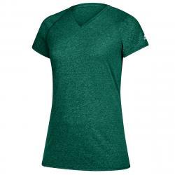 Adidas Women's Short-Sleeve Team Climalite Tee - Green, M
