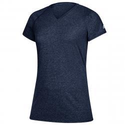Adidas Women's Short-Sleeve Team Climalite Tee - Blue, M