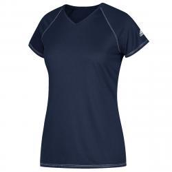 Adidas Women's Short-Sleeve Team Climalite Tee - Blue, L