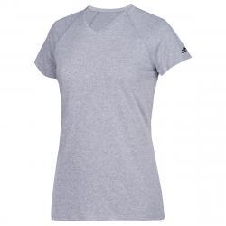 Adidas Women's Short-Sleeve Team Climalite Tee - Black, LT