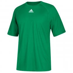 Adidas Men's Climalite Short-Sleeve Tee - Green, S