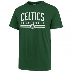 Boston Celtics Men's Short-Sleeve Basketball Splitter Tee - Green, L