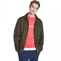 Jack Wills Men's Hartford Field Jacket - Green, S