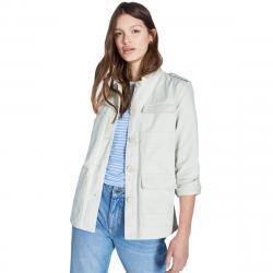 Jack Wills Women's Garrowby Utility Jacket - White, 2