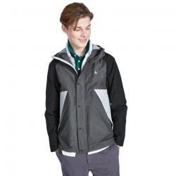 Jack Wills Men's Bangor Showerproof Anorak Jacket - Black, XS